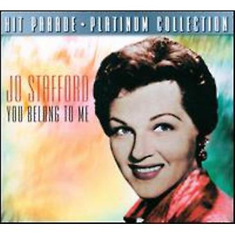 Jo Stafford - You Belong to Me [CD] USA import