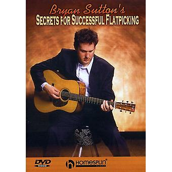 Bryan Sutton - Secrets for Successful Flatpicking [DVD] USA import