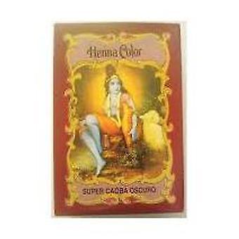 Radhe Shyam Henna Super Caoba Dark Polvo 100 g