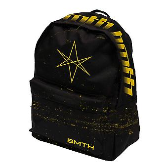 Bring Me The Horizon Backpack Bag Mantra Band Logo new Official Rocksax Black