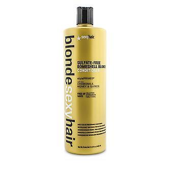 Rubia sexy cabello sulfato libre bomba rubia acondicionador (diario color preservando) 186258 1000ml/33.8oz