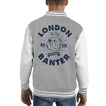 London Banter Bulldog Pride Kid's Varsity Jacke