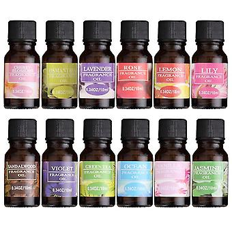 Water Soluble Flower Fruit Essential Oil Relieve Stress for Humidifier Fragrance  Lamp Air Freshening Aromatherapy