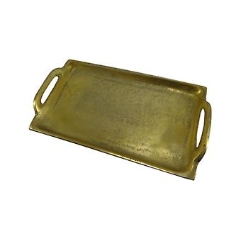 Deco4yourhome Tray Small Antique Gold