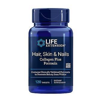 Cheveux, peau et ongles Collagen Plus 120 tablettes
