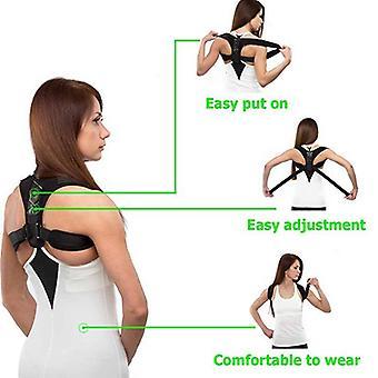 Adjustable Back Posture Corrector - Clavicle Spine Back Shoulder Lumbar Posture Correction