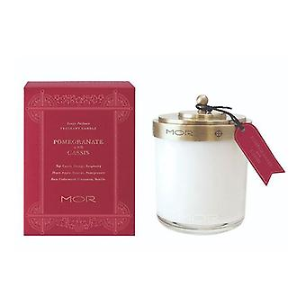 Mor Fragrant Candle 380G Pomegranate And Cassis