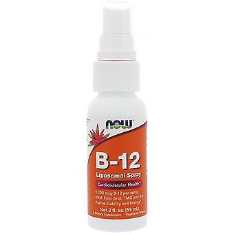 Now Foods, B-12 Liposomal Spray, 1,000 mcg, 2 fl oz (59 ml)