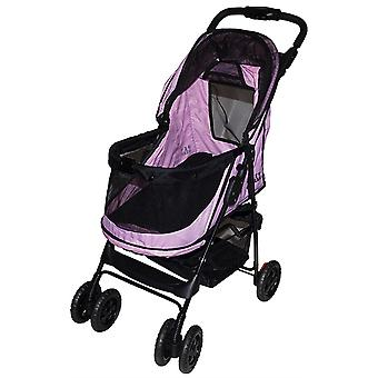 Rosewood Happy trails No Zip Stroller - Pink