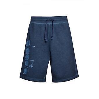 Broek van Diadora blauw denim tricot