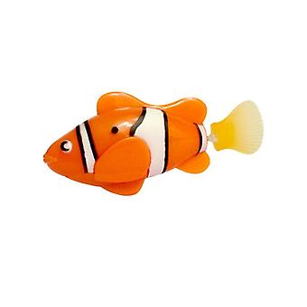 Electronic Pet Fish Bionic Swimming Fish Diving Robot Baby Bathtub Bath Gift - Electronic Sensing Fish Deep Sea Tank Toys