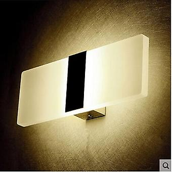Mini Led Acrylic Long Wall Lamp For Bedroom Bedside Living Room Indoor