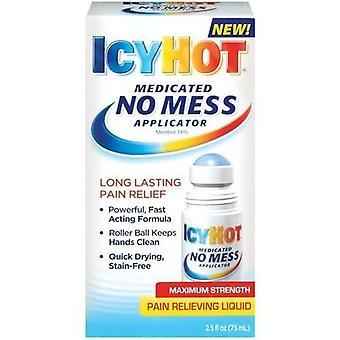 Icy Hot applicateur médicamenteux force maximale douleur soulagement liquide 2.5 fl. oz