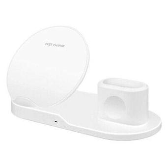 Zikko Zw8030 Wireless Dock Stand Fast 3in1 Charger For Apple Iphone Watch, Airpods X, Xs, Samsung Galaxy S9