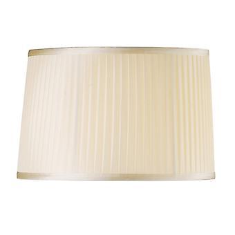 40 Cm Tyg Lampskärm Grädde