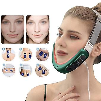 Face-lift device slimming therapy vibration belt facial chin anti-wrinkle beauty massage machine