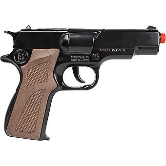 CAP GUN - 125/6 - Gonher Police Pistol 8 Shots