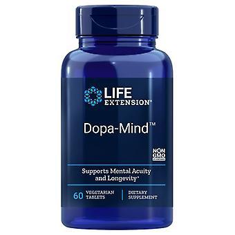 Extensão da vida Dopa-Mind, 60 Guias Veg