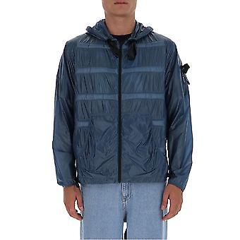 Moncler Craig Green 1a70210c0624720 Men's Blue Polyester Outerwear Jacket
