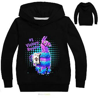 Battle Royale 3d Boys / Girls Hoodies- Game Rainbow Smash Pony Horse Sweatshirt