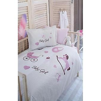 Baby Baby Bed Duvet Cover, Bed Sheets, Pillow Case, Cotton Ball Sets