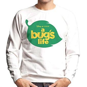 Pixar A Bug's Life Leaf Logo Men's Collegepaita