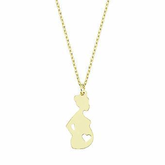 Maman pour être collier d'or