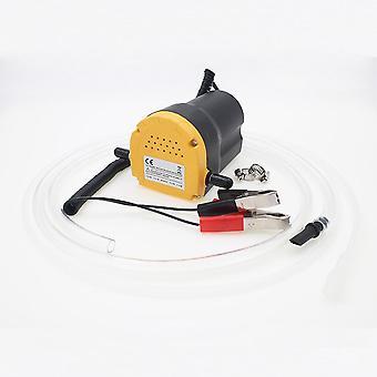 12v/24v elektrisk motoroljepump, inloppsslang och klämmor