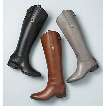 New Cool Women Rider Horse Riding Boots, Smooth Leather Knee Shoes