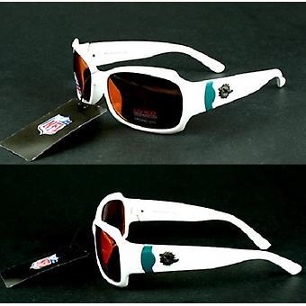 Miami Dolphins NFL Bombshell Sport White Sunglasses