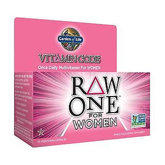 Vitamin Code raw one for women 30 vegetable capsules