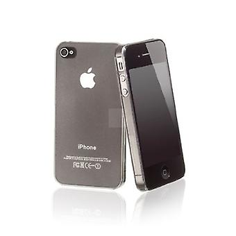 Iphone 4 & 4s Hard Plastic Cover Back Case - Transparent/clear
