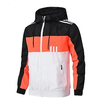 Sports Windbreaker, Male Outdoor Running Sport Wear Jacket