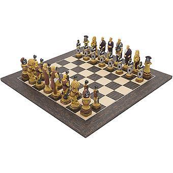 The Spartacus Tiger Ebony Chess Set