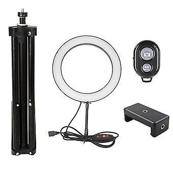 Kamera ringlight és állvány állvány készlet