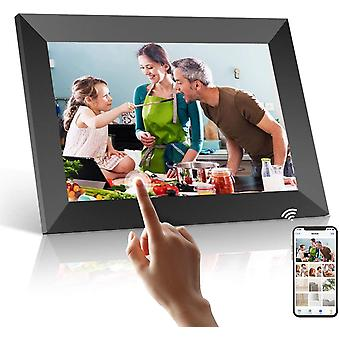 10.1 inch Digital Wifi Picture Frame with 1080P Touch IPS Screen