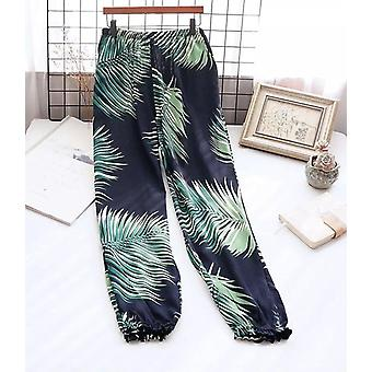 Summer Cotton Thin Home Pants