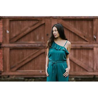 Amelia Jumpsuit | Emerald