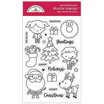 Doodlebug Design Noc Przed Bożym Narodzeniem Doodle Znaczki