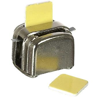 Dolls House Chrome Toaster & Slices Of Bread Miniature 1:12 Kitchen Accessory