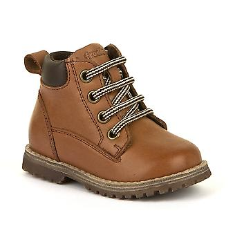 FRODDO Laced & Zipped Boot Brown