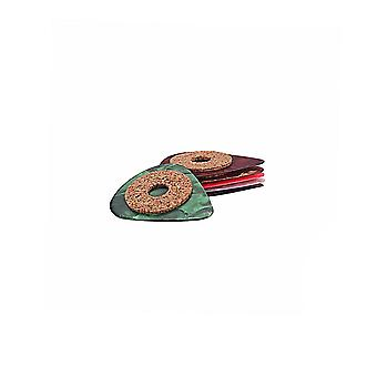 6PCS Grip Cork Tape and Celluloid Picks Up 0.9mm Thickness for guitar
