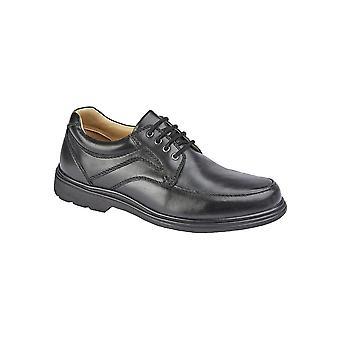 Roamers Mens Sapatos de Couro