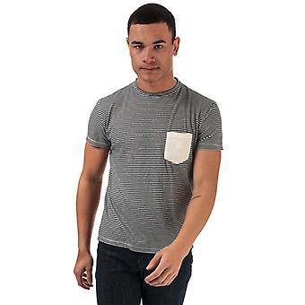 T-shirt en jersey rayé Henri Lloyd homme et apos en blanc