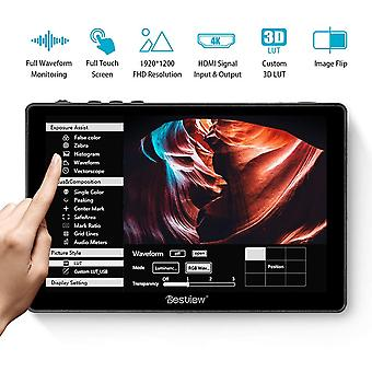 Desview r7 DSLR fotoaparát monitor, 7&touch-screen field monitor 4k hdmi 1000nit brightness 1920 * 1200