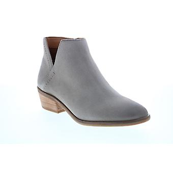 Frye & Co. Caden Bootie  Womens Gray Suede Ankle & Booties Boots