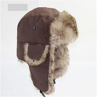 Warme Trapper Aviator Trooper Earflap Winter Flaps Ski / Bomber Hoeden