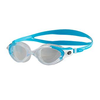 Speedo Futura Biofuse Flexiseal Female Swimming Goggles Cushioned Fit - Turquoise