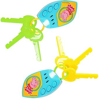 Peppa Pig, Car Keys - Sold Randomly