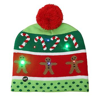 Creative Cute Fashion Warm Led Christmas Winter Knitted Hat